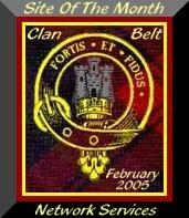 Site Of The Month Award - Alba's Clan Belt