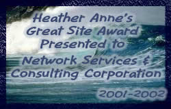 Heather Anne's Great Site Award