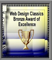 Web Design Classics Bronze Award of Excellence
