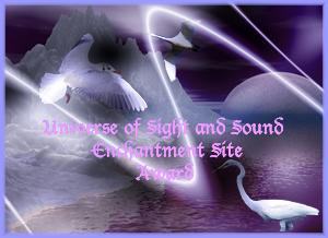 Universe of Sight and Sound Enchantment Site Award