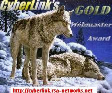 CyberLink's Gold Webmaster Award