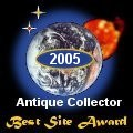 This site's been granted Best Site Award by AntiqueCollector.uk.com.