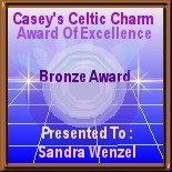 Casey's Celtic Charm Award of Excellence