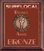 Surflocal Excellence in Web Business Bronze Award