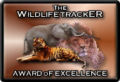 Wildlife Tracker Gold Award for Excellence